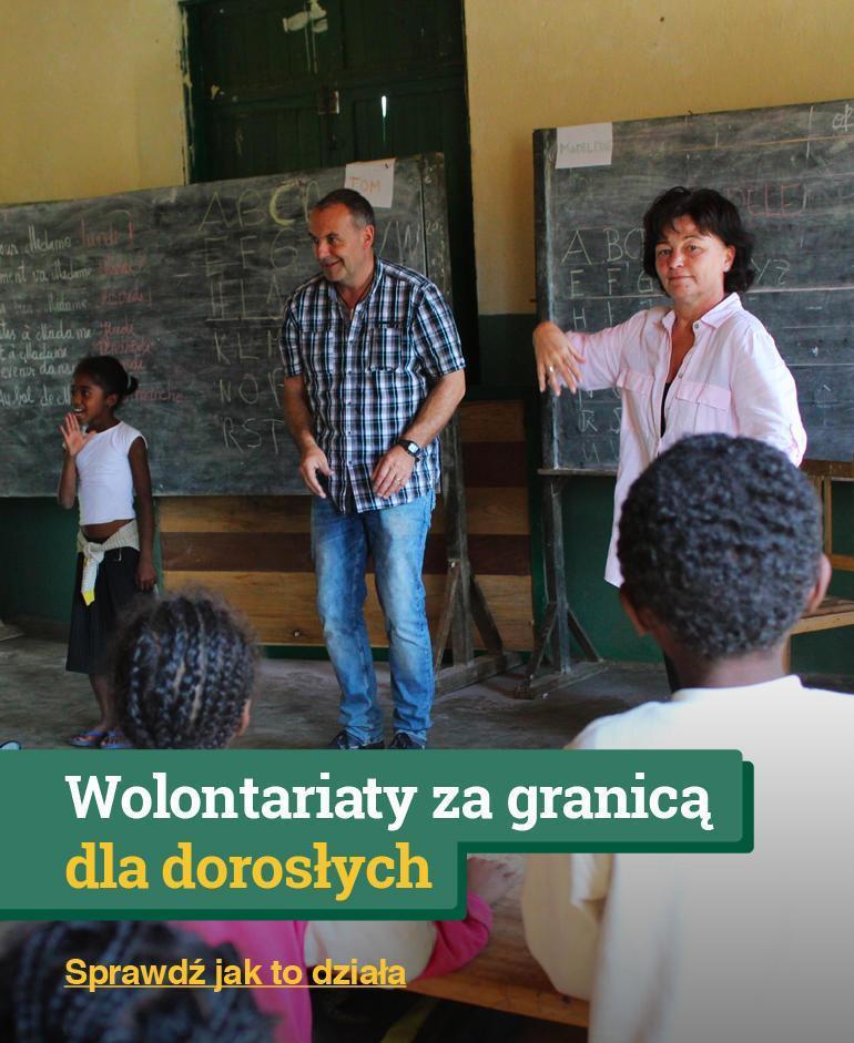 Wolontariat za granicą dla dorosłych (Careerbreak)