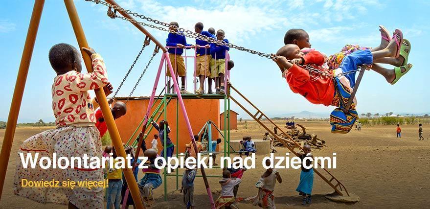 Wolontariat za granicą z dziećmi