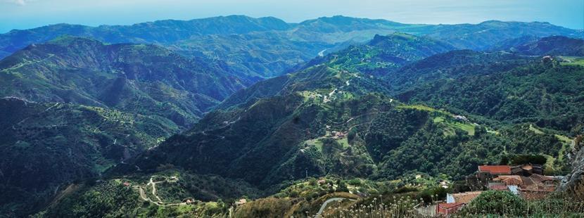 Calabria. Krajobraz