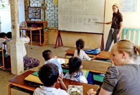 Wyjedź na wolontariat za granicą z Edukacji