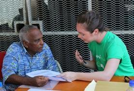 Volunteer Fidżi