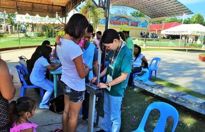 A Projects Abroad volunteer on the Public Health internship in the Philippines, Southeast Asia