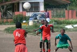 Volunteer in Ghana: Soccer