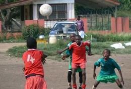 Volunteer in Ghana: Soccer