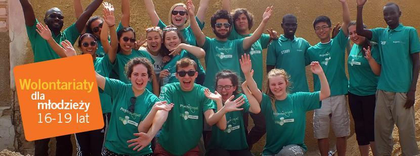 Uczestnicy Wolontariatu dla młodzieży za granicą