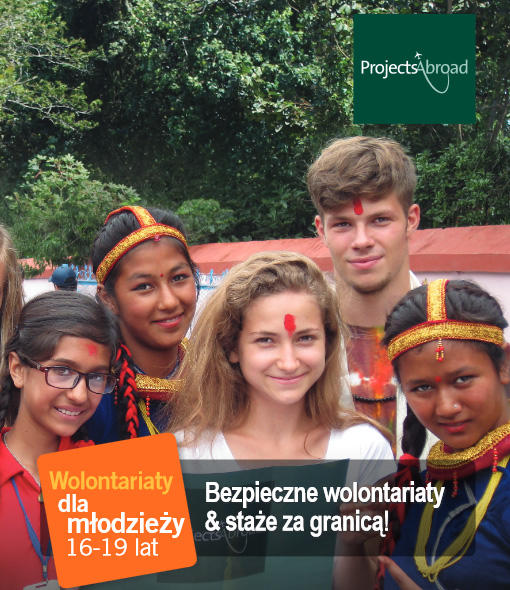 Wolontariaty dla młdzieży 16-19 lat